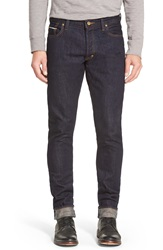 Prps 'Fury' Slouchy Slim Selvedge Jeans Pressed Rinse
