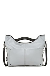 L.A.M.B. Haines Leather Handbag Gray