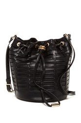 Steve Madden Leanna Horizon Bucket Bag Black