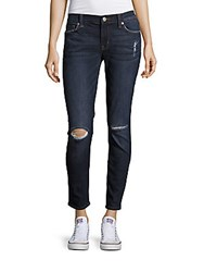Hudson Ankle Length Distressed Jeans Holly