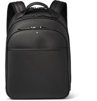 Montblanc Extreme Small Textured Leather Backpack Black