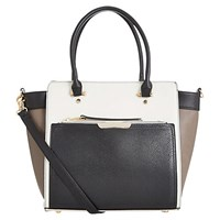 Oasis Tilly Colour Block Tote Bag Multi