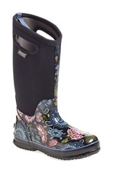 Women's Bogs 'Classic Winter Blooms' Tall Waterproof Snow Boot With Cutout Handles