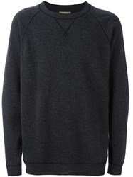 N.Peal Felted Oversized Pullover Grey