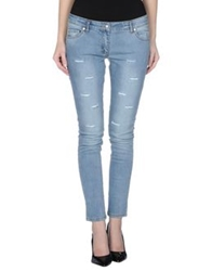Silvian Heach Denim Pants Blue