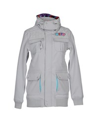 Neff Coats And Jackets Jackets Women Grey