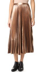 A.L.C. Bobby Skirt Rose Gold
