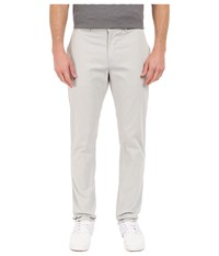 Perry Ellis Slim Fit Cotton Twill Chino In Light Grey Light Grey Men's Jeans Gray