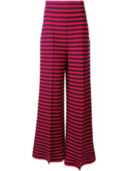 Sonia Rykiel Striped Flared Trousers