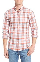 Men's Gant Trim Fit Madras Plaid Sport Shirt