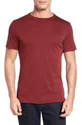 Robert Barakett Men's 'Georgia' Slim Fit T Shirt Rasberry Truffle