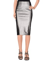 .. Merci Skirts Knee Length Skirts Women Grey