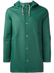 Stutterheim 'Stockholm' Raincoat Green