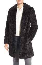 Eliza J Women's Faux Persian Lamb Coat