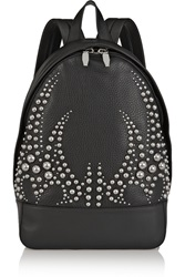 Alexander Wang Studded Textured Leather Backpack