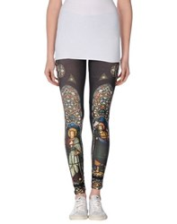 Via Delle Rose Trousers Leggings Women Dark Green