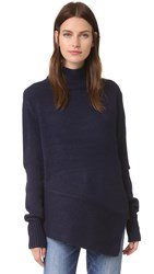 The Fifth Label Unknown Knit Turtleneck Sweater Navy