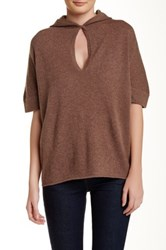 In Cashmere Hoodie Cashmere Poncho Beige