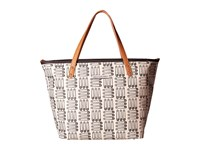 Petunia Pickle Bottom Glazed Downtown Tote London Calling Tote Handbags Black