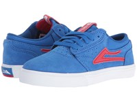 Lakai Griffin Little Kid Big Kid Royal Suede Men's Skate Shoes Blue