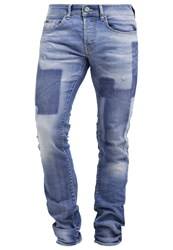 Gas Jeans Gas Anders Slim Fit Slim Fit Jeans Stonewashed Stone Blue