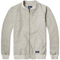 Bleu De Paname Tweed Bomber Jacket Grey Marl