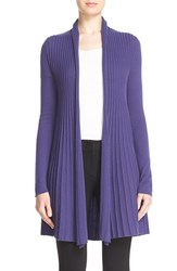 Women's Armani Collezioni Raised Cable Knit Cardigan