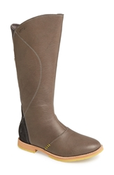 Ahnu 'Helena' Leather Boot Women Pewter