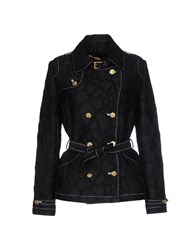 Class Roberto Cavalli Coats And Jackets Full Length Jackets Women Black