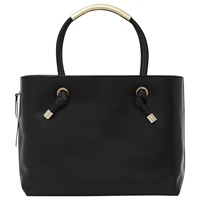 Reiss Hawker Structured Tote Bag Black