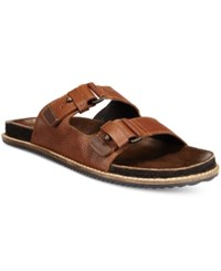 Kenneth Cole Reaction Men's Leap Year Sandals Men's Shoes Cognac