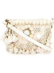 Figue 'Heidi Tuk Tuk' Crossbody Bag White