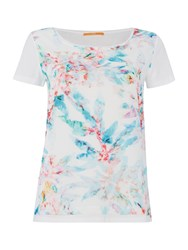 Hugo Boss Short Sleeve Print Tee Multi Coloured