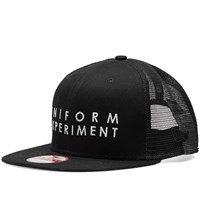 Uniform Experiment X New Era Mesh Cap Black