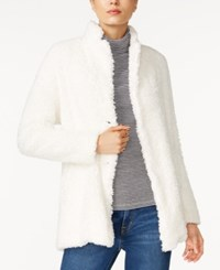 Tommy Hilfiger Corinne Sherpa Jacket Only At Macy's Snow White