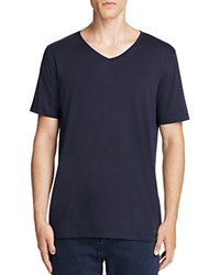 Hugo Danny V Neck Tee Navy