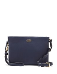Vince Camuto Cami Leather Crossbody Bag Peacoat