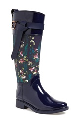 Ted Baker 'Hampto' Waterproof Rain Boot Women Dark Blue Rubber