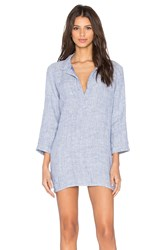 Cp Shades Kendall Stripe Tunic Dress Blue