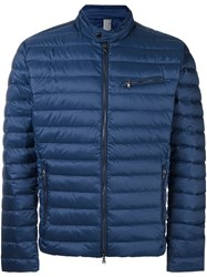 Hackett Long Sleeved Padded Jacket Blue