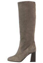 Patrizia Pepe Boots Uniform Gray Grey