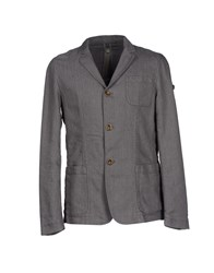 Swiss Chriss Suits And Jackets Blazers Men Grey