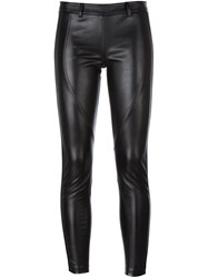 Faith Connexion Super Skinny Cropped Trousers Black