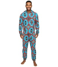 Kavu One Der Suit Top Water Mojave Oasis Men's Jumpsuit And Rompers One Piece Blue