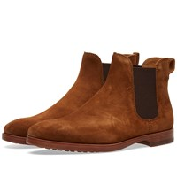 Polo Ralph Lauren Dillian Ii Chelsea Boot Brown