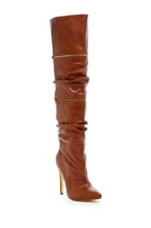 Michael Antonio Halima Convertible Stiletto Heel Boot Brown
