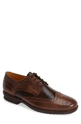 Sandro Moscoloni 'Bond' Spectator Shoe Men Brown