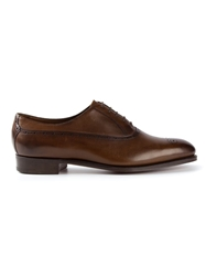Edward Green 'Claverton' Oxfords Brown