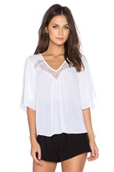 Bcbgeneration Woven Top White