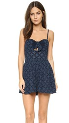 Bec And Bridge Embroidered Romper Ink